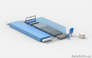 Завод по изготовлению газоблоков АСМ-50К - Изображение #1, Объявление #1582501